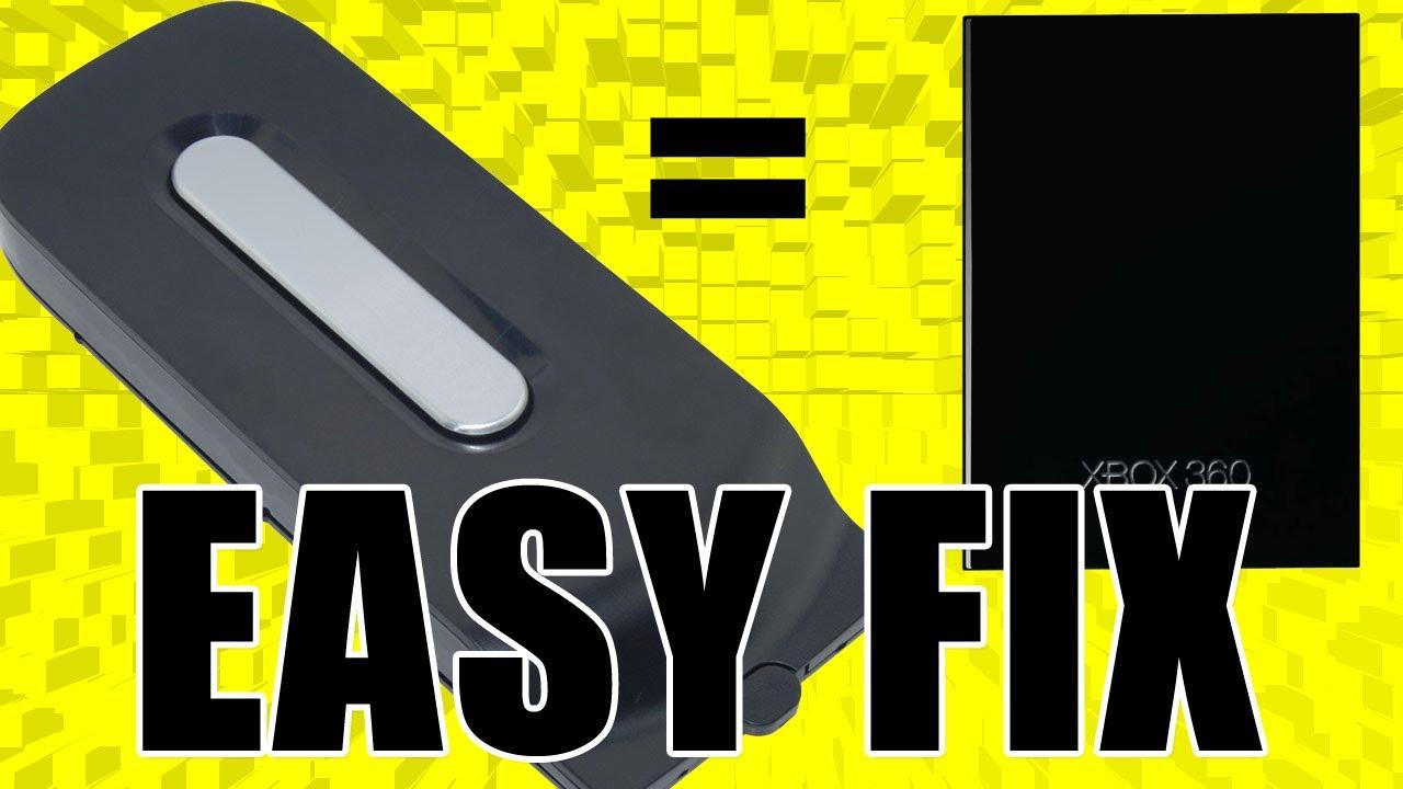 Xbox 360 Slim Hard Drive Slot How to put old Hard Drive into