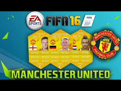 FIFA 16 - PLAYER RATING PREDICTIONS | MANCHESTER UNITED w/ SCHWEINSTEIGER, ROONEY, DEPAY & more!