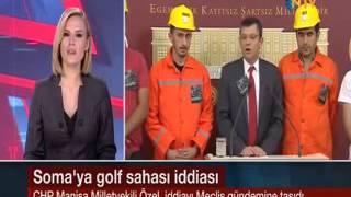 Soma'ya golf sahası Meclis gündeminde