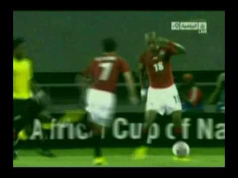 freestyle football skills - egypt team - angola 2010