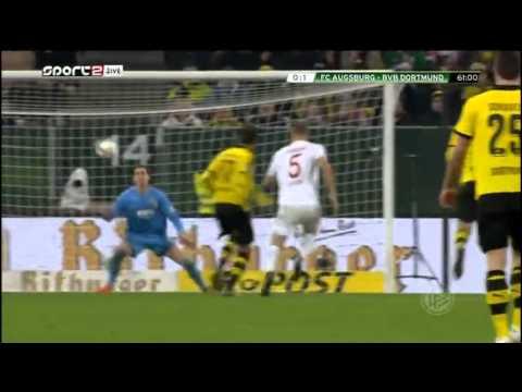 Augsburg vs Borussia Dortmund 0-2 All Goals 2015 DFB-Pokal