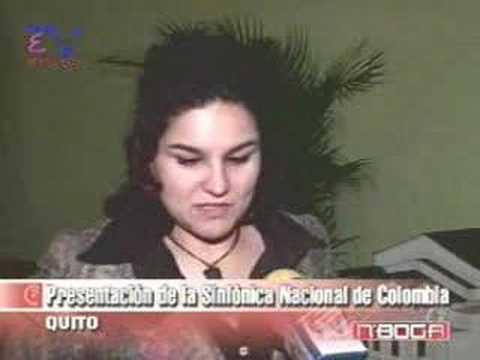 Presentación de la Sinfónica Nacional de Colombia