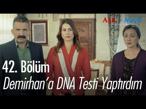 Demirhan'a DNA testi yaptırdım - Aşk ve Mavi 42. Bölüm