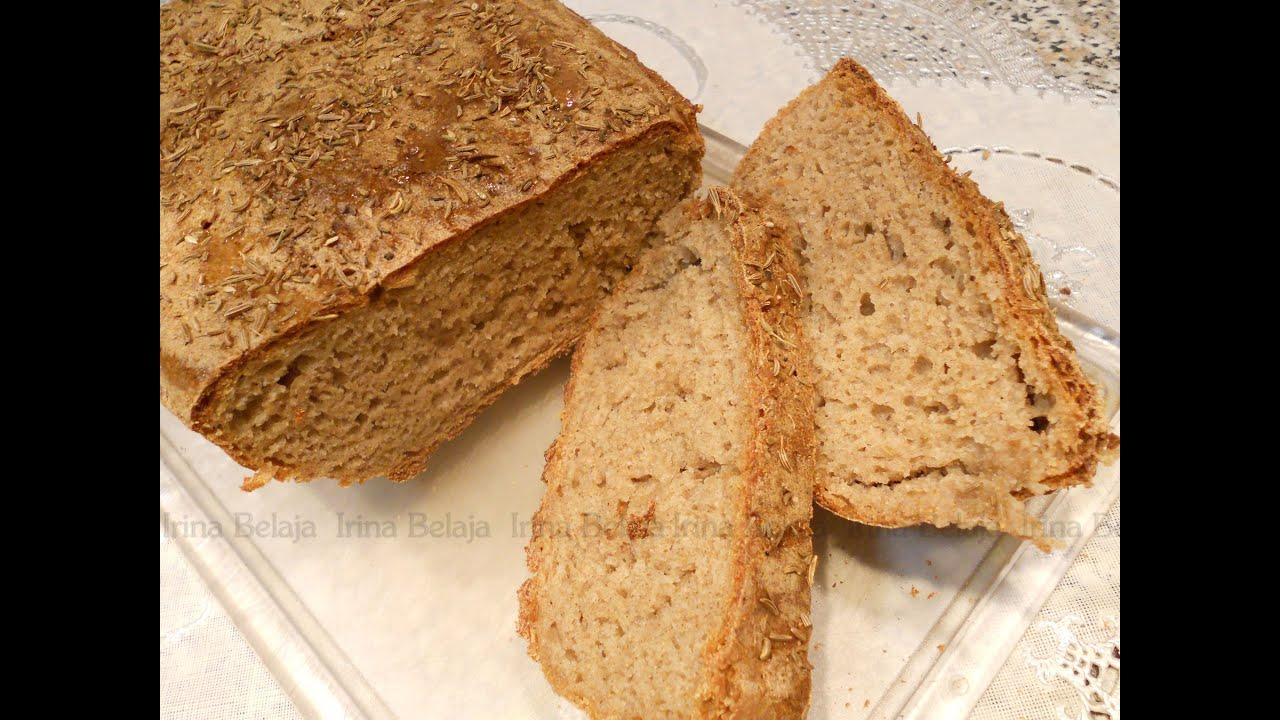 Черный хлеб своими руками