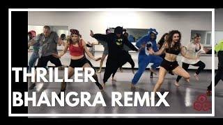 """download lagu """"thriller"""" Bhangra Remix  Karmagraphy  Kavita Rao Choreography gratis"""