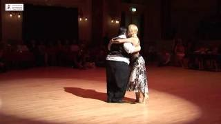 2016 Alejandra and Aoniken dance milonga to La Mulateada at Cheltenham International Tango Festival