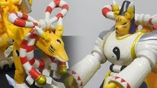 DigimonデジタルモンスターWarp digivolving figure review-Kyubimonキュウビモン to Taomonタオモン