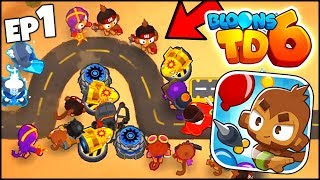 NINJAKIWI SENT ME BLOONS TD 6 EARLY!! 3 UPGRADE PATHS, 5 TIERS, NEW HEROES (BTD 6 #1 Gameplay)