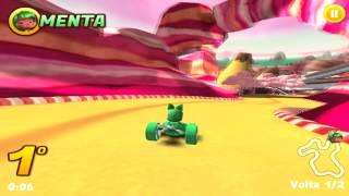 Corrida Doce do Detona Ralph (GamePlay HD)