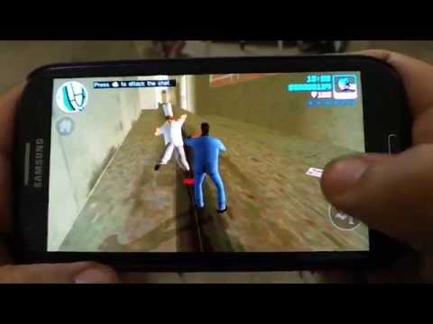 SAMSUNG GALAXY S3 GRAND THEFT AUTO VICE CITY GAMEPLAY
