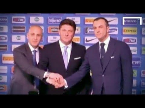Inter Milan unveil Walter Mazzarri