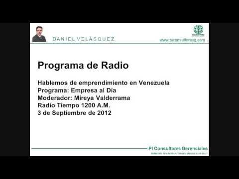 Hablemos de emprendimiento en Venezuela