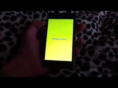 LG Optimus L7 Umstellen in den emergency mode