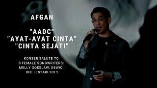Download lagu Afgan - AADC/Ayat-ayat Cinta/Cinta Sejati (Konser Salute Erwin Gutawa to 3 Female Songwriters)