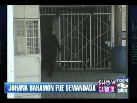 La pelea de Johana Bahamón