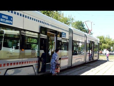 Новый московский трамвай PESA Fokstrot / New Moscow tram PESA Fokstrot