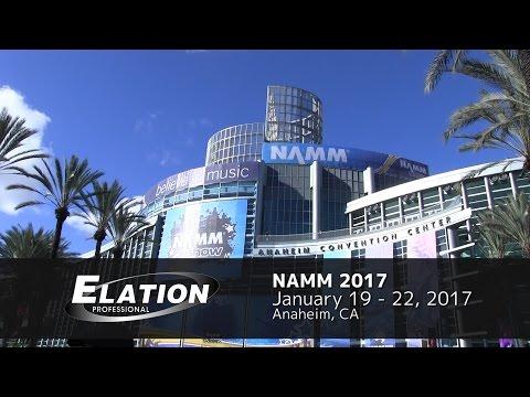 Elation Professional at NAMM2017