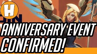 Overwatch ANNIVERSARY EVENT CONFIRMED - Datamined Proof! | Hammeh