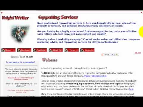 0 Copywriting Services   UK and International Business Service