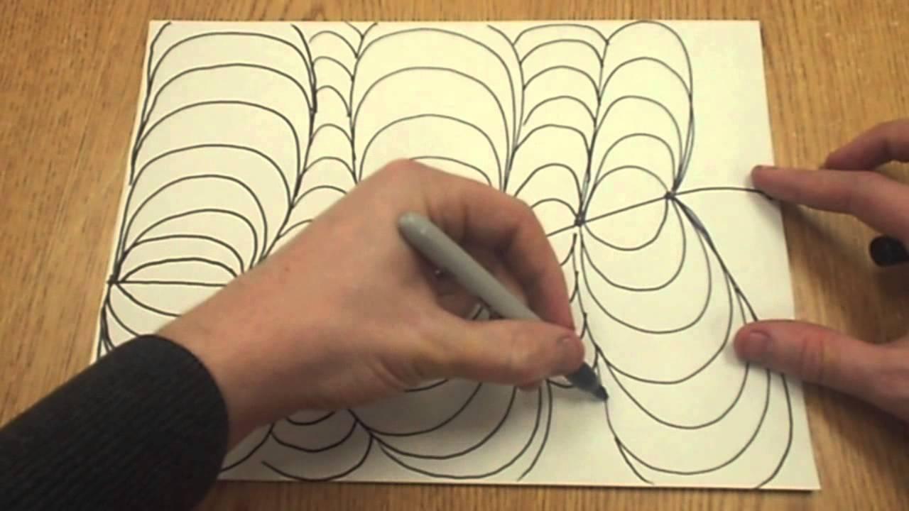 Art Drawings Ideas Easy Easy op Art Drawing