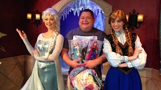 Frozen Meet And Greet - Meeting Anna & Elsa❄️