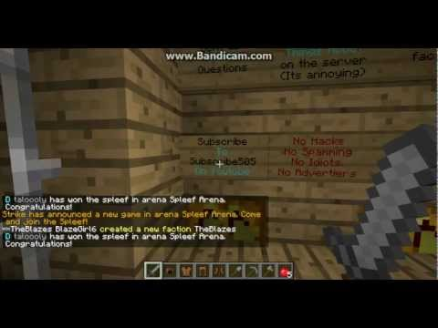 Minecraft 1.7.4 Server IP [Factions] [24/7] [No-Lag]