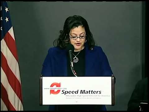 Speed Matters: Sherri M. Bowman at the Internet Speed Report Launch Event