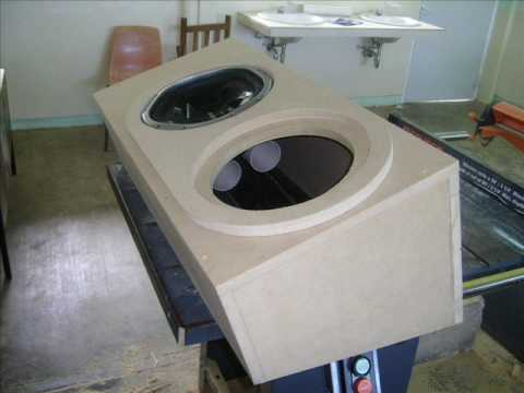 sony xplod 10 quot subwoofers ported box 35 hz youtube