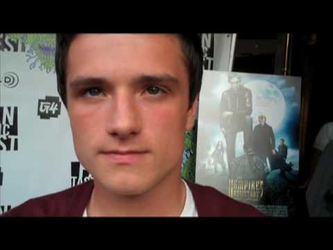 Fantastic Fest Red Carpet Int: THE VAMPIRES ASSISTANT (John C. Reilly, Josh Hutcherson)