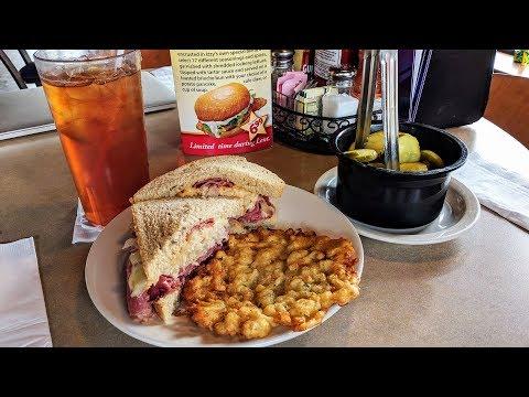 Izzy's хорошая забегаловка город Цинциннати штата Огайо США good food tour