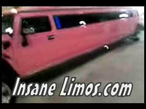 Barbie Pink H2 Hummer Limo
