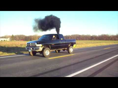 Diesel Burnout Compilation
