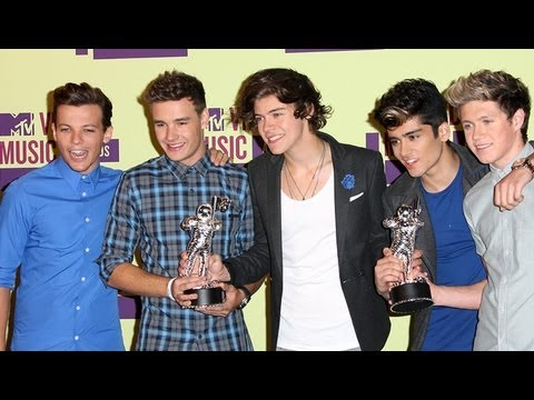 2012 MTV VMA Highlights: One Direction, Twilight, Robert Pattinson