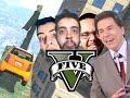 GTA V Online - MITOS NAS MANOBRAS DE PANTO! Com Ledgero e Patófe!
