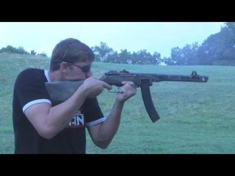 Russian PPSH-41 Sub-Machine Gun!!!