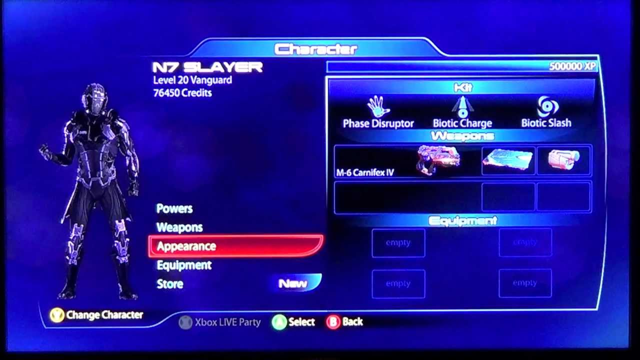 Mass Effect 3 n7 Slayer Build