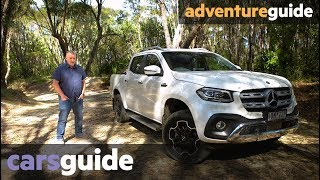 Mercedes-Benz X-Class V6 2019 off-road review: 4WD Power 350d
