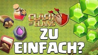 Ist Clash of Clans zu einfach?