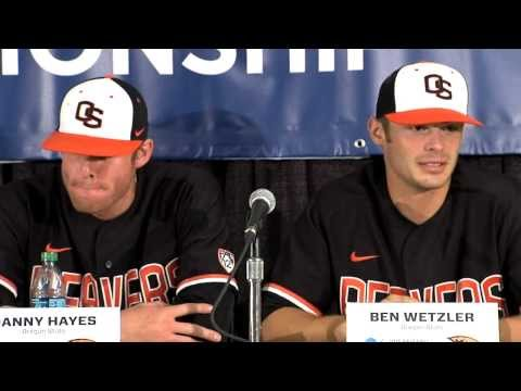 NCAA Regional Baseball Post Game Presser 6/2