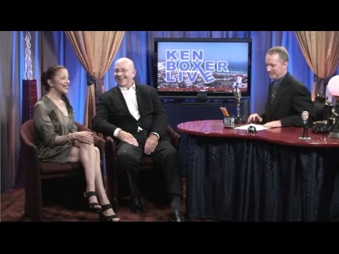 """""""Ken Boxer Live,"""" Olympic Figure-Skating Champion Tim Wood is Guest, with Co-Host Tai Babilonia"""