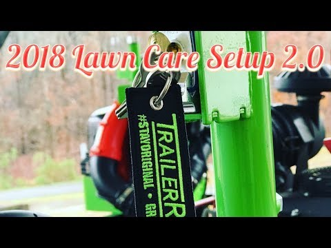2018 Lawn Care Setup Open Trailer
