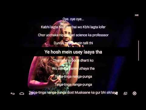 PK Songs | PK - Nanga Punga Dost Lyrics 2014 HD| Shreya Ghoshal