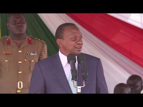 HON. UHURU KENYATTA'S SPEECH AT THE  WEST KENYA UNION CONFERENCE OF SEVENTH-DAY ADVENTISTS