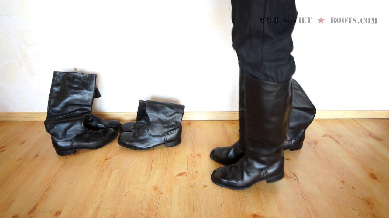 Soviet Officer Boots Soviet Officer Box-calf Boots