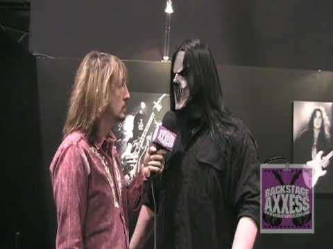Mick Thomson of Slipknot Interview with BackstageAxxess.com - NAMM 2010