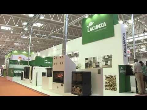 Estufas y chimeneas de Lacunza en Expobiomasa 2014