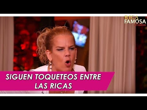 Rica Famosa Latina - Siguen con toqueteos entre mujeres
