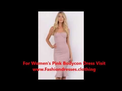 Black and Red Bodycon dress Pink Bodycon Maxi dress
