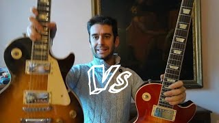 Gibson Les Paul Chambered vs Non Chambered