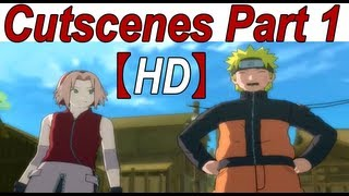 Naruto Shippuden Ultimate Ninja Storm 3 Walkthrough Part 1 (Story Cutscenes Movie English Dub